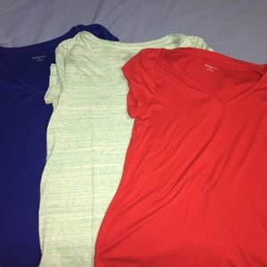 Merona Women's Short Sleeve Tops (3)  Size XL